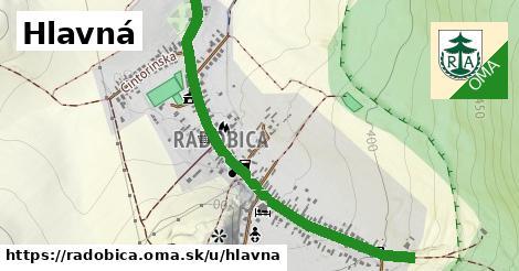 ilustrácia k Hlavná, Radobica - 1,36km