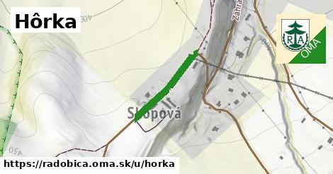 ilustračný obrázok k Hôrka, Radobica