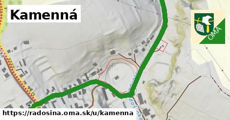 ilustrácia k Kamenná, Radošina - 0,77km