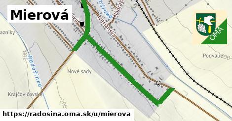 ilustrácia k Mierová, Radošina - 1,02km