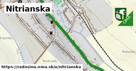 ilustrácia k Nitrianska, Radošina - 1,17km