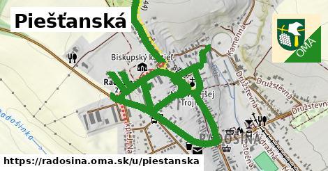ilustrácia k Piešťanská, Radošina - 2,6km