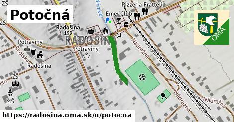 ilustračný obrázok k Potočná, Radošina