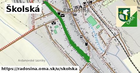 ilustrácia k Školská, Radošina - 0,82km