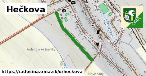 ilustrácia k Hečkova, Radošina - 635m