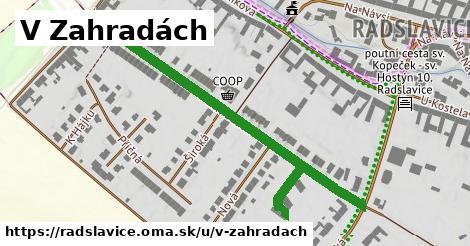ilustrácia k V Zahradách, Radslavice - 594m