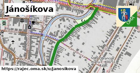 ilustrácia k Jánošíkova, Rajec - 458m
