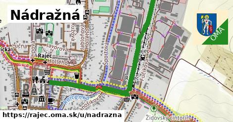 ilustrácia k Nádražná, Rajec - 0,80km