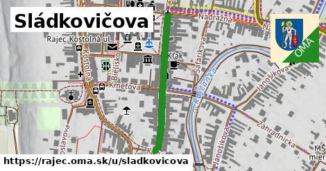 ilustrácia k Sládkovičova, Rajec - 320m