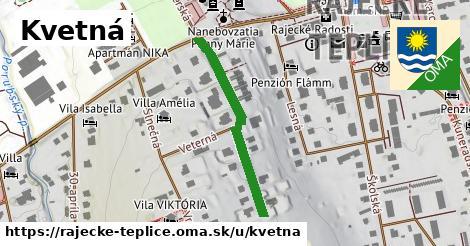 ilustrácia k Kvetná, Rajecké Teplice - 308m