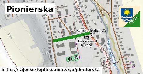 ilustrácia k Pionierska, Rajecké Teplice - 194m