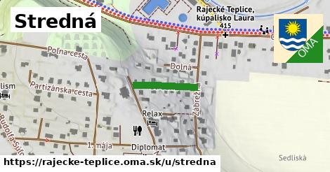 ilustrácia k Stredná, Rajecké Teplice - 147m