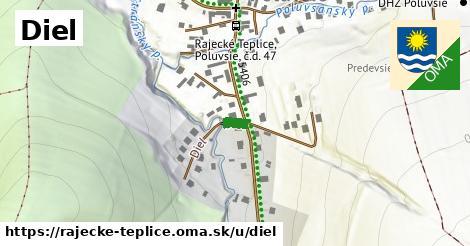 ilustrácia k Diel, Rajecké Teplice - 37m