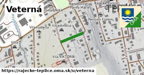 ilustrácia k Veterná, Rajecké Teplice - 126m