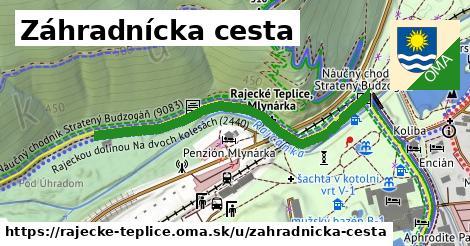 ilustrácia k Záhradnícka cesta, Rajecké Teplice - 482m