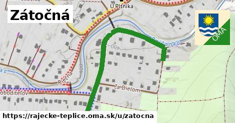 ilustrácia k Zátočná, Rajecké Teplice - 547m
