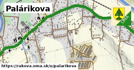 ilustrácia k Palárikova, Raková - 2,9km