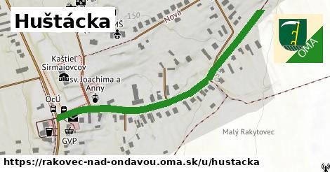 ilustrácia k Huštácka, Rakovec nad Ondavou - 552m