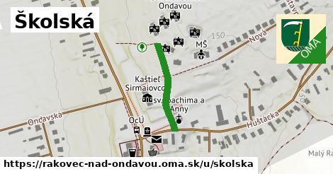 ilustrácia k Školská, Rakovec nad Ondavou - 209m