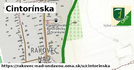 ilustrácia k Cintorínska, Rakovec nad Ondavou - 0,82km
