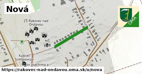 Nová, Rakovec nad Ondavou