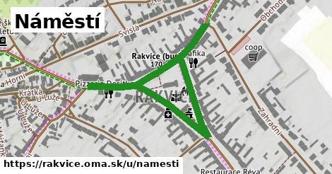 ilustrácia k Náměstí, Rakvice - 0,70km