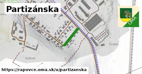 ilustrácia k Partizánska, Rapovce - 125m