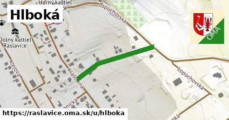 ilustrácia k Hlboká, Raslavice - 269m
