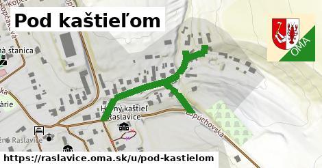 ilustrácia k Pod kaštieľom, Raslavice - 430m