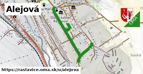 ilustrácia k Alejová, Raslavice - 1,16km
