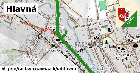 ilustrácia k Hlavná, Raslavice - 1,62km