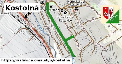 ilustrácia k Kostolná, Raslavice - 0,74km