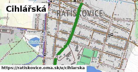ilustrácia k Cihlářská, Ratíškovice - 0,75km