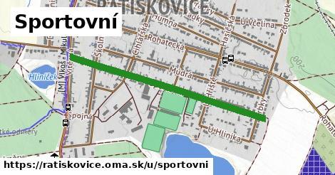 ilustrácia k Sportovní, Ratíškovice - 0,90km