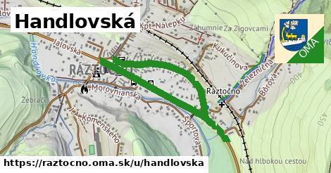 ilustrácia k Handlovská, Ráztočno - 1,37km
