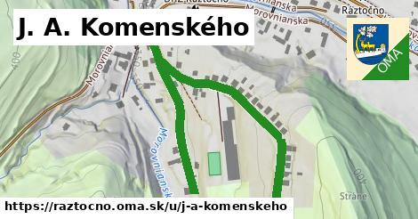 ilustrácia k J. A. Komenského, Ráztočno - 693m