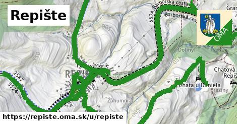 ilustrácia k Repište, Repište - 5,8km