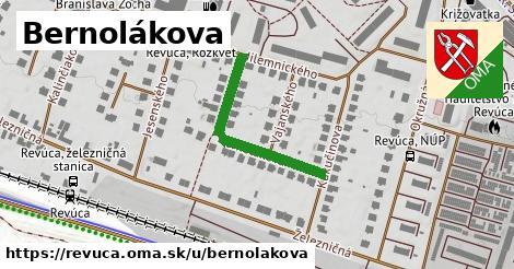 ilustrácia k Bernolákova, Revúca - 286m