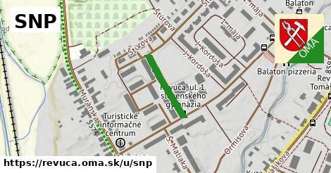 ilustrácia k SNP, Revúca - 245m