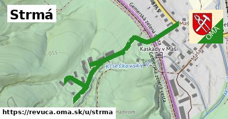 ilustrácia k Strmá, Revúca - 598m