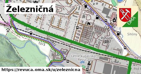 ilustrácia k Železničná, Revúca - 1,94km