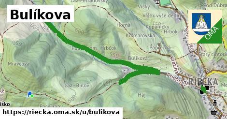 ilustrácia k Bulíkova, Riečka - 1,10km