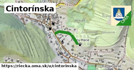 ilustrácia k Cintorínska, Riečka - 161m