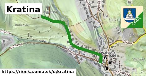 ilustrácia k Kratina, Riečka - 305m