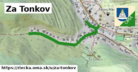 ilustrácia k Za Tonkov, Riečka - 584m