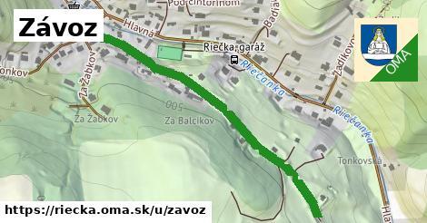 ilustrácia k Závoz, Riečka - 0,98km