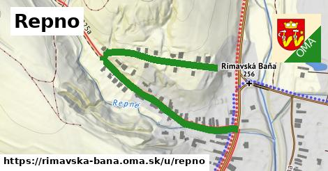 ilustrácia k Repno, Rimavská Baňa - 605m