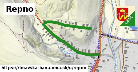ilustrácia k Repno, Rimavská Baňa - 626m
