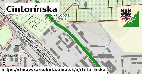 ilustrácia k Cintorínska, Rimavská Sobota - 594m