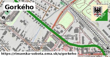ilustrácia k Gorkého, Rimavská Sobota - 0,83km
